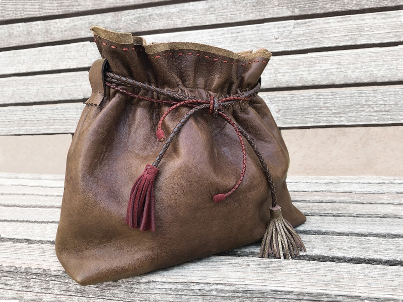 Brown Flexy Bag