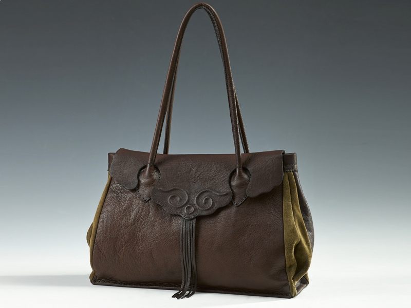 Embossed Lady Bag