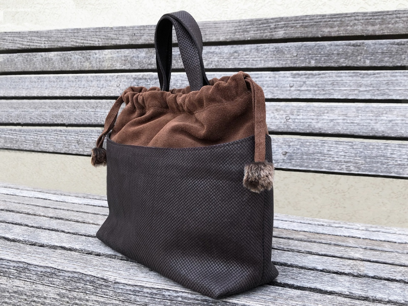 In-Out Brown Daily Bag