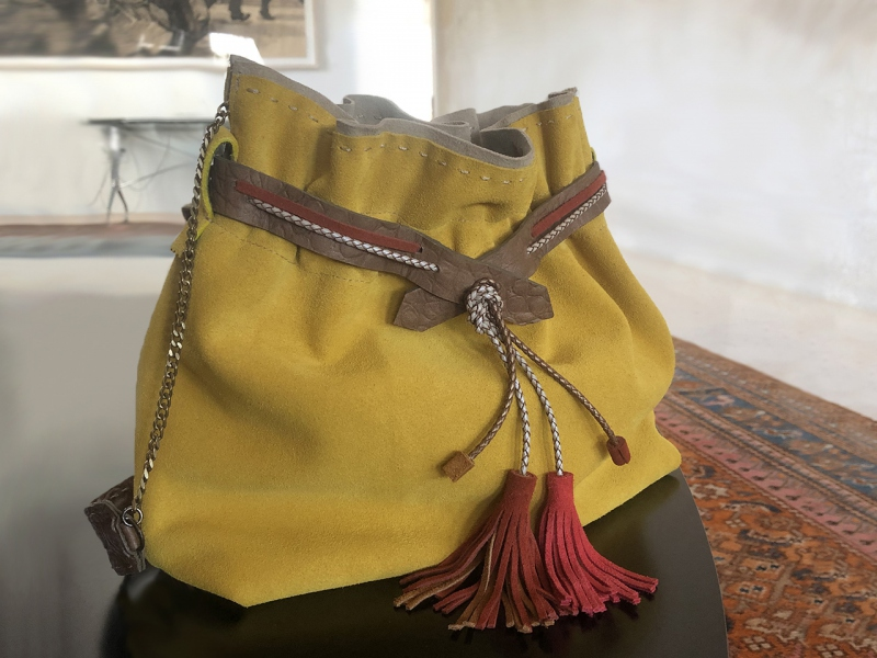 Mustard Flexy Bag