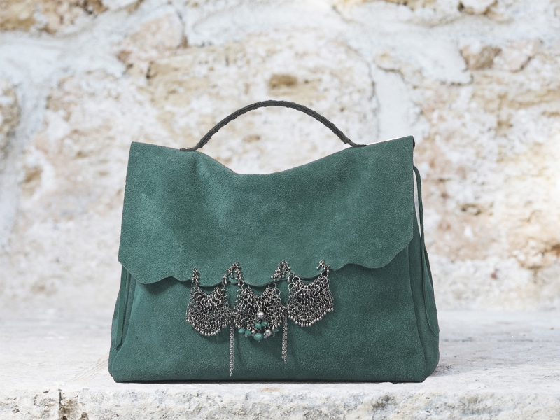 Ocean Lace Satchel